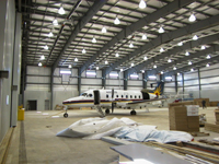 Aircraft Hangar Thunder Bay Airport