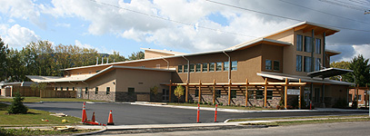 George Jeffrey Childres Centre is now almost complete